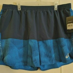 ASICS Mens Everyday Shorts Blue/Directoire Blue At